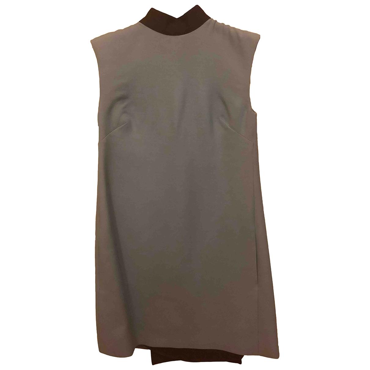 Valentino Garavani - Robe   pour femme en soie - turquoise