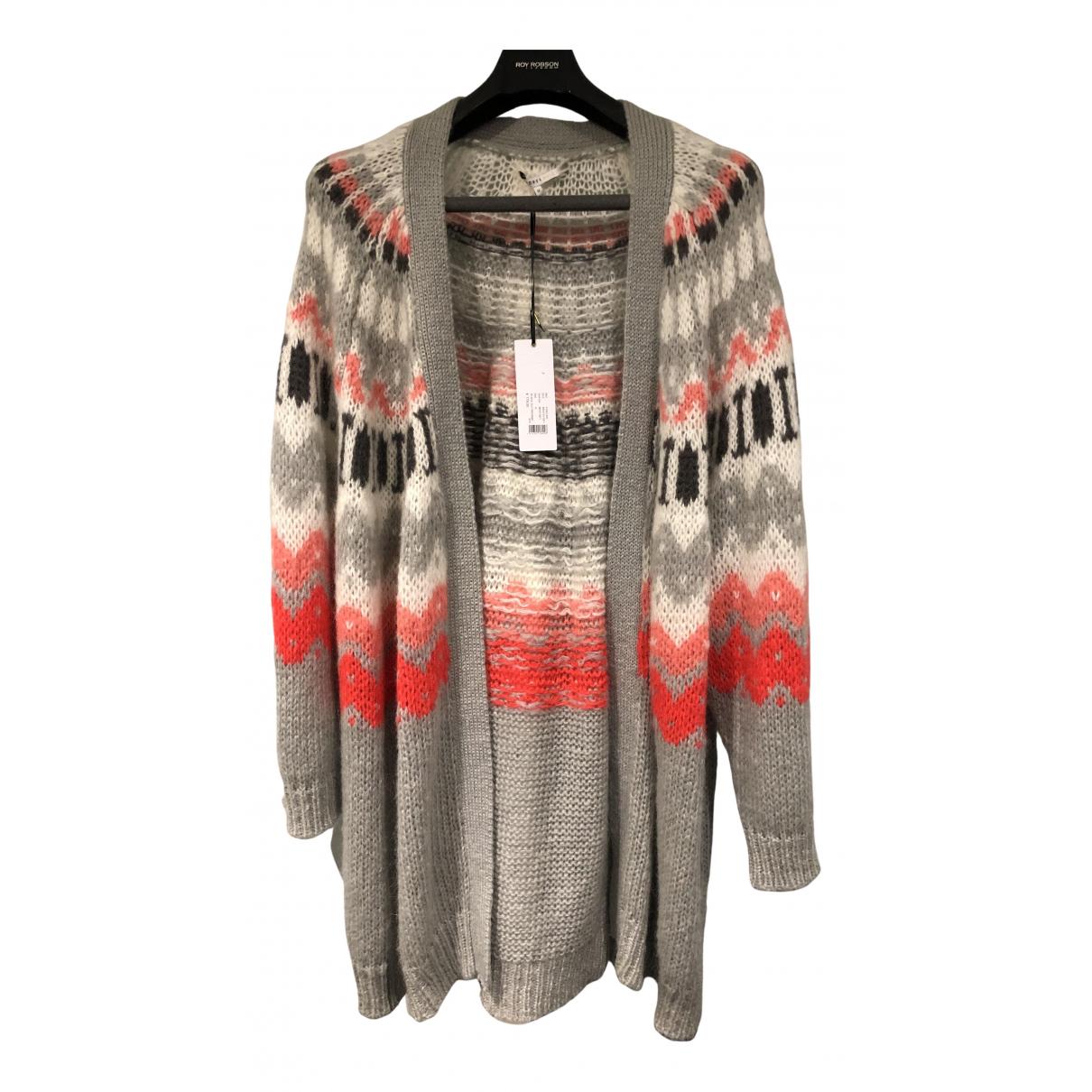Xandres N Grey Wool Knitwear for Women One Size FR