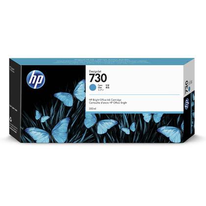 HP 730 P2V68A Original Cyan Ink Cartridge High Yield 300ml