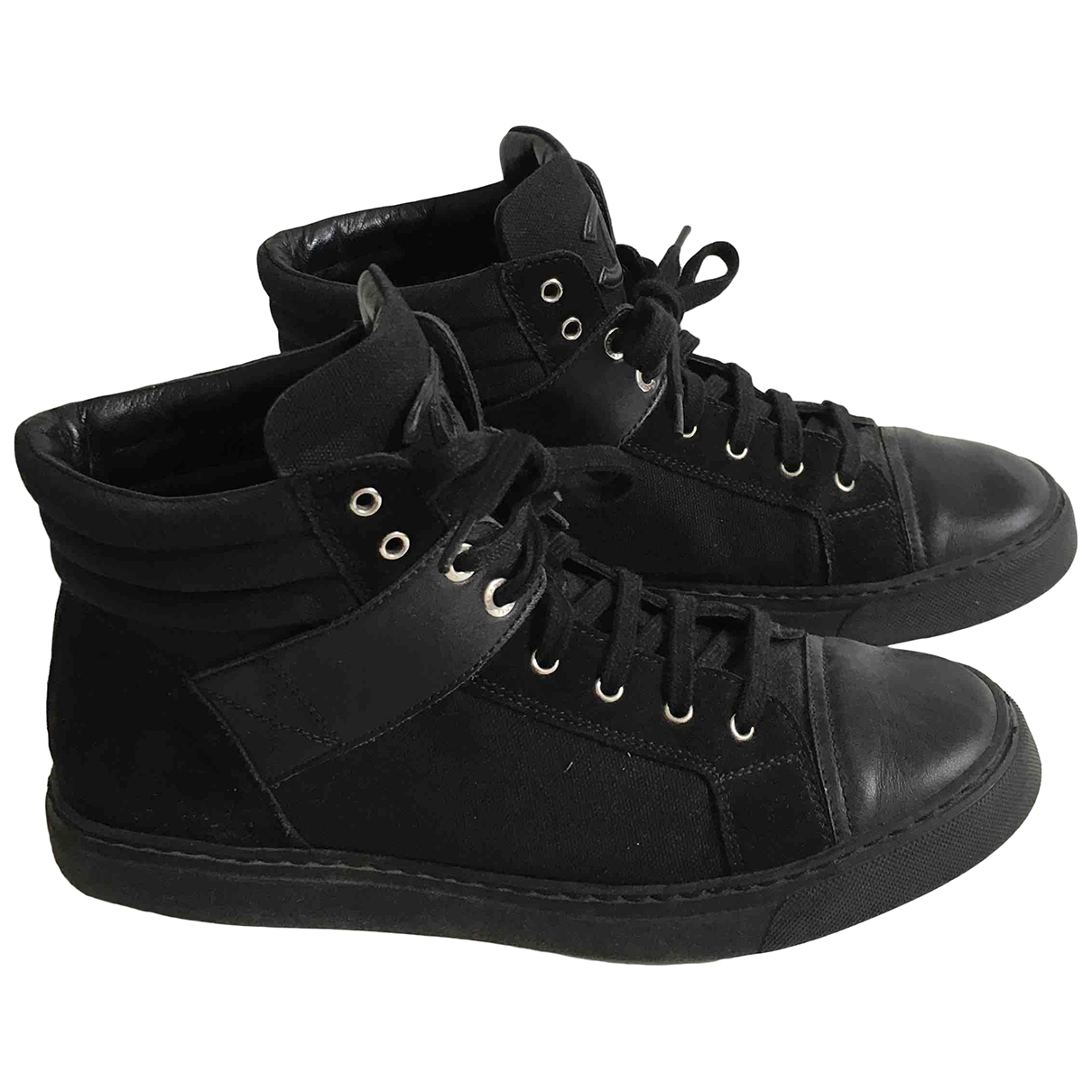 Chanel \N Black Cloth Trainers for Women 38.5 EU