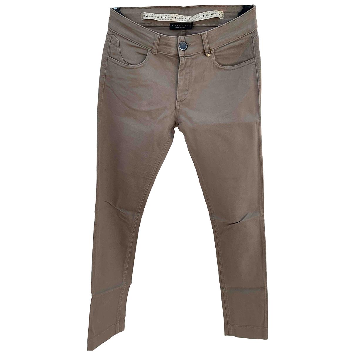 Pantalon pitillo Twin Set