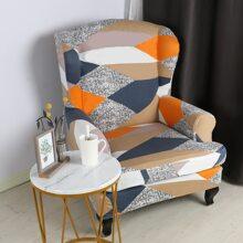 Geometric Pattern Stretchy Sofa Cover