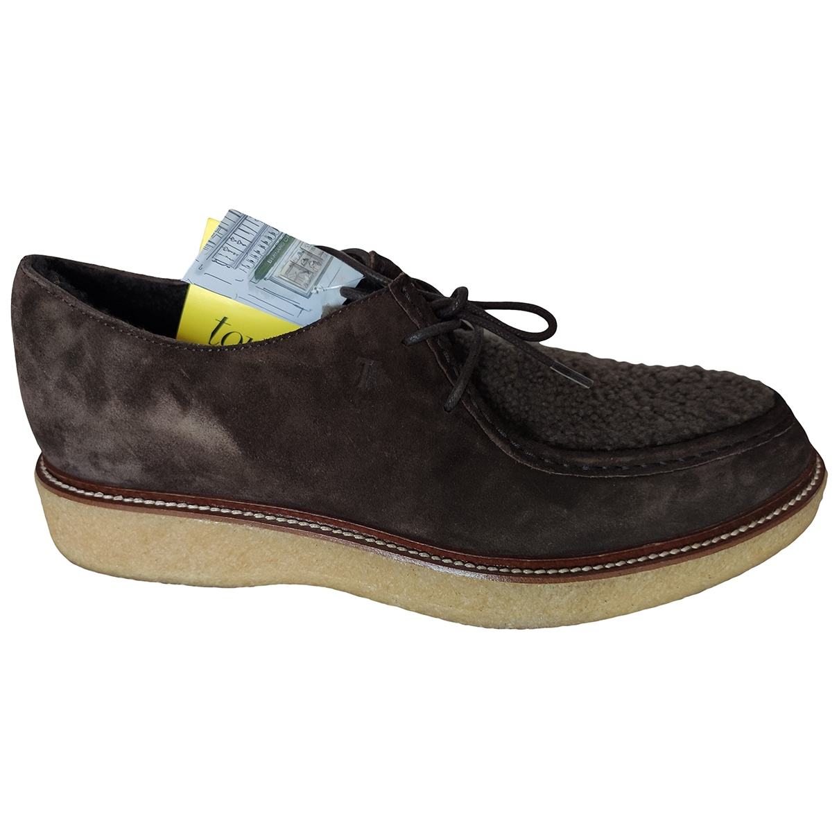 Tod's \N Brown Suede Lace ups for Men 8 UK