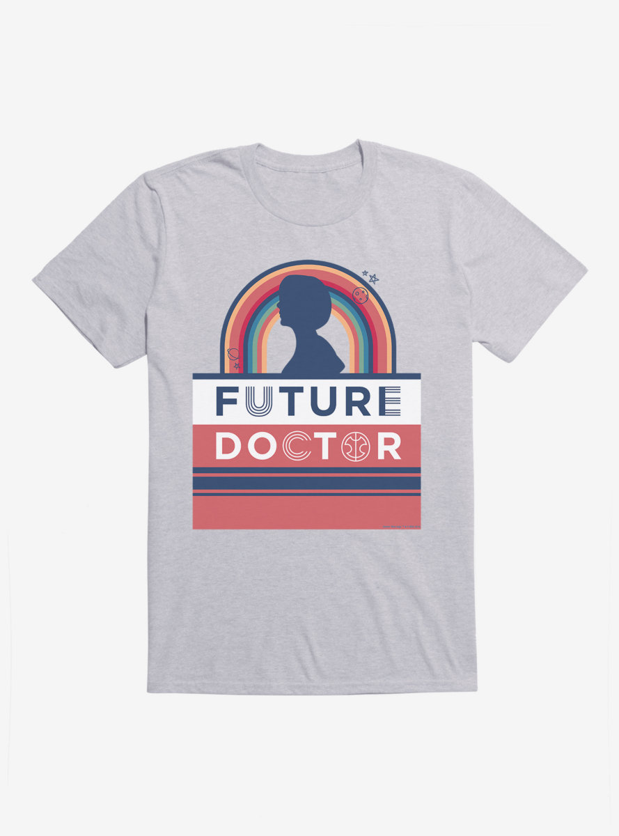 Doctor Who Thirteenth Doctor Future Doctor Silhouette T-Shirt