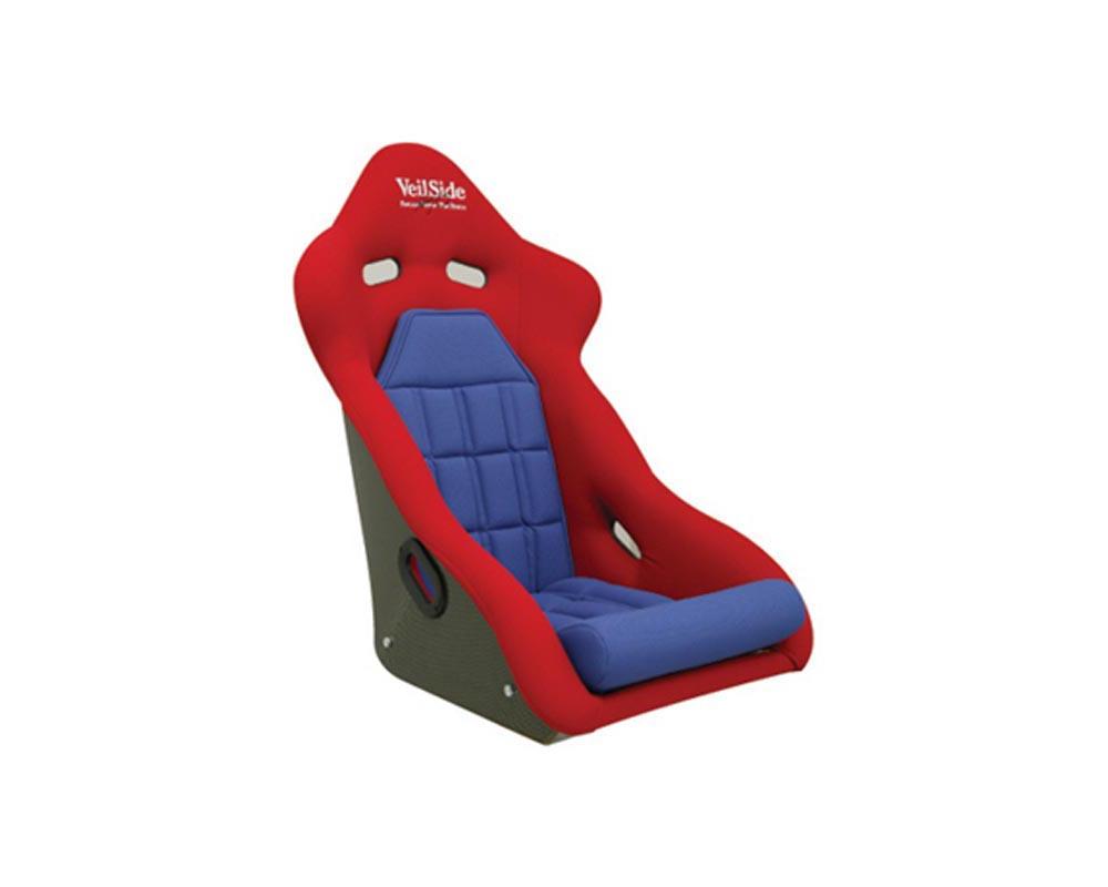 VeilSide D-1R FRP Racing Seat Red/Blue
