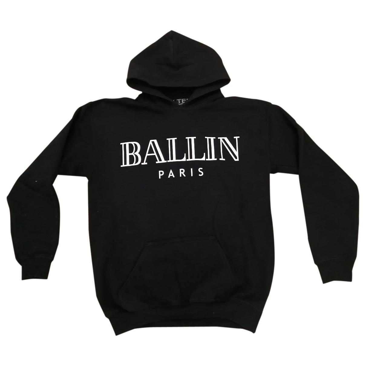 Brian Lichtenberg \N Pullover in  Schwarz Baumwolle