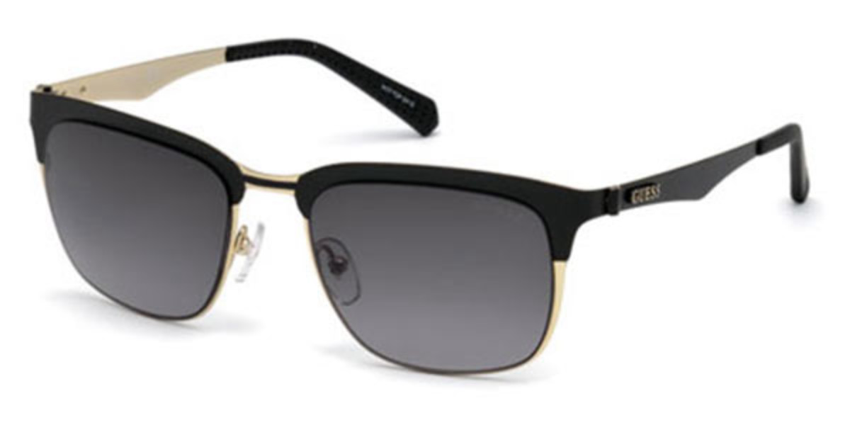 Guess GU 6900 05B Men's Sunglasses Black Size 52