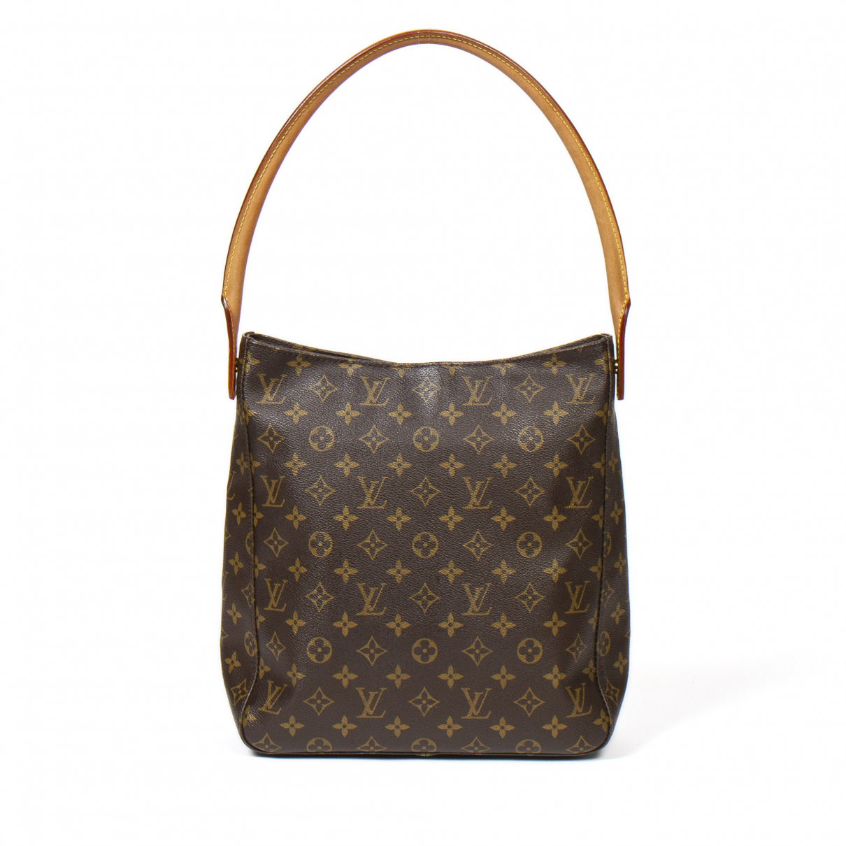 Louis Vuitton Looping Brown Cotton handbag for Women \N