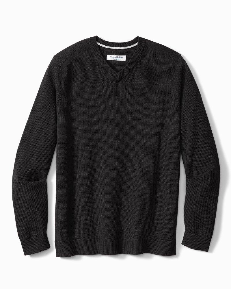 Big & Tall Coolside IslandZone® V-Neck Sweater