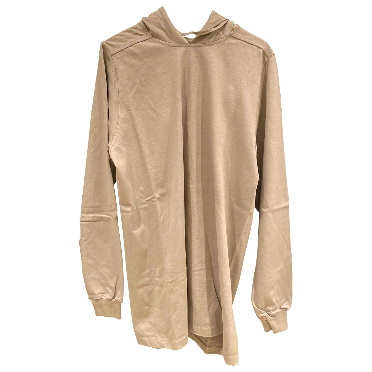 Rick Owens - Tee shirts   pour homme en coton - gris