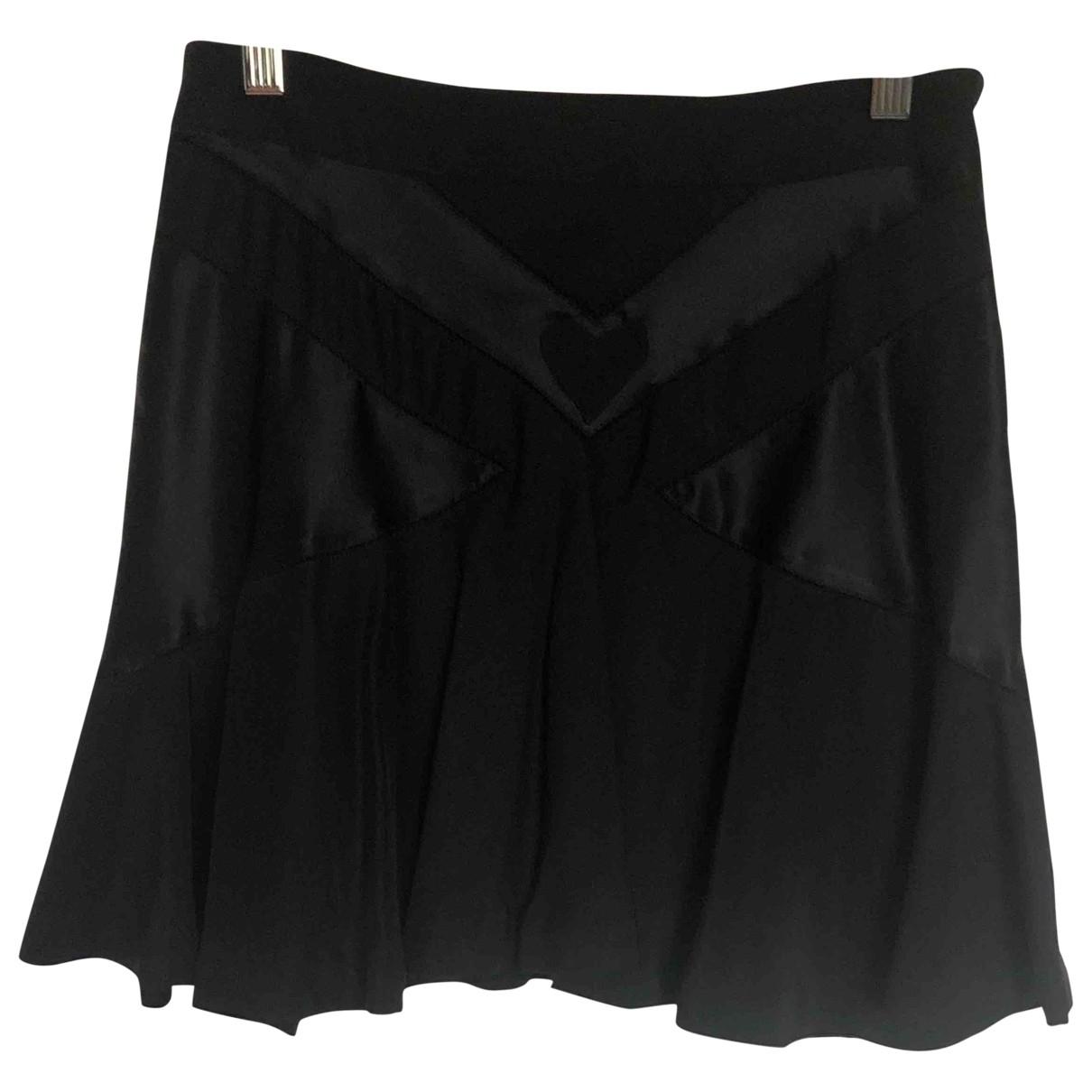 Marc By Marc Jacobs - Jupe   pour femme en soie - noir