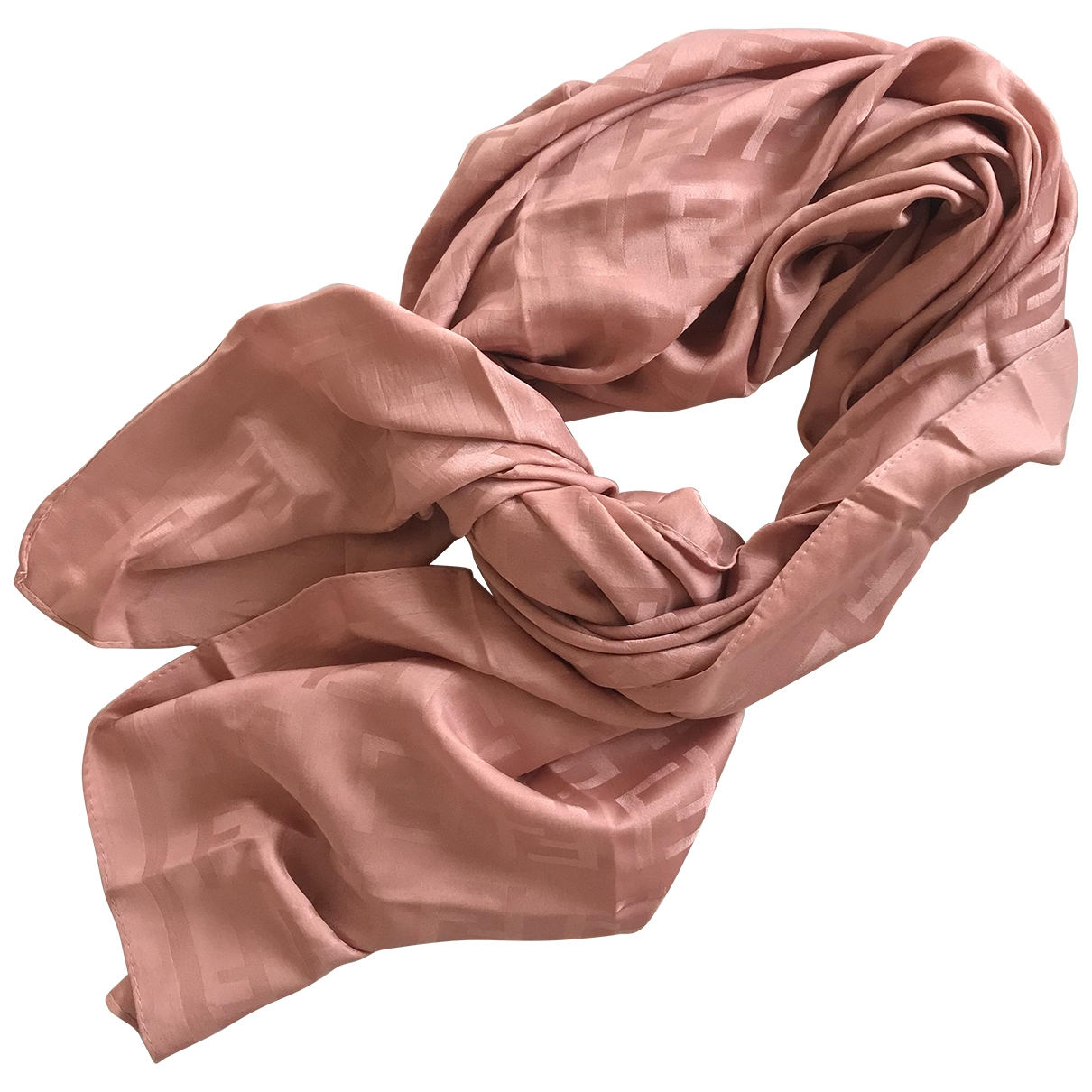 Fendi \N Pink Cashmere scarf for Women \N