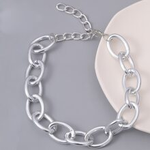 Guys Simple Chain Necklace