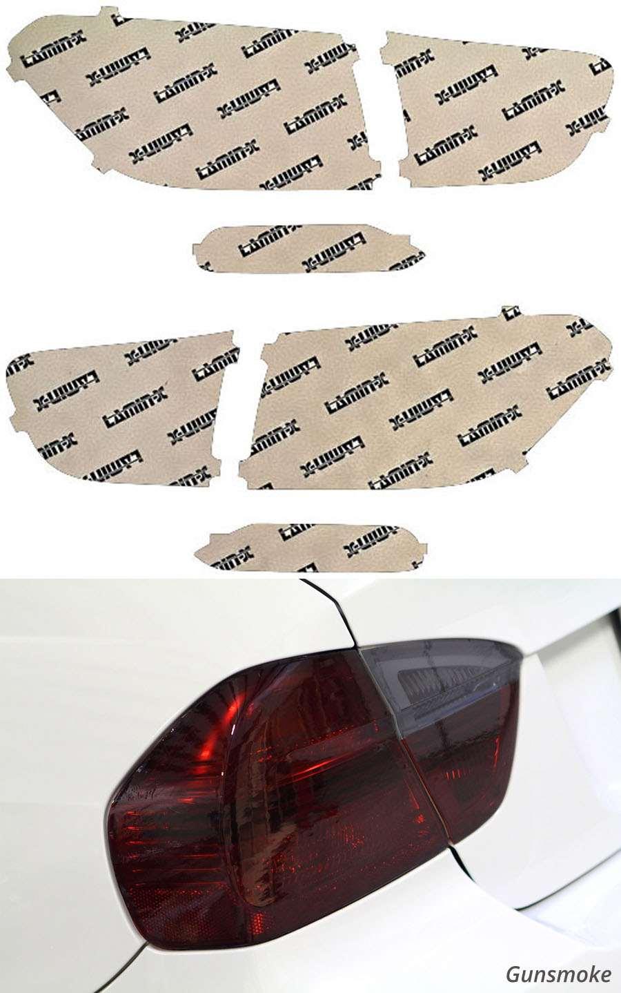 Kia Sorento 16-18 Gunsmoke Tail Light Covers Lamin-X K233G