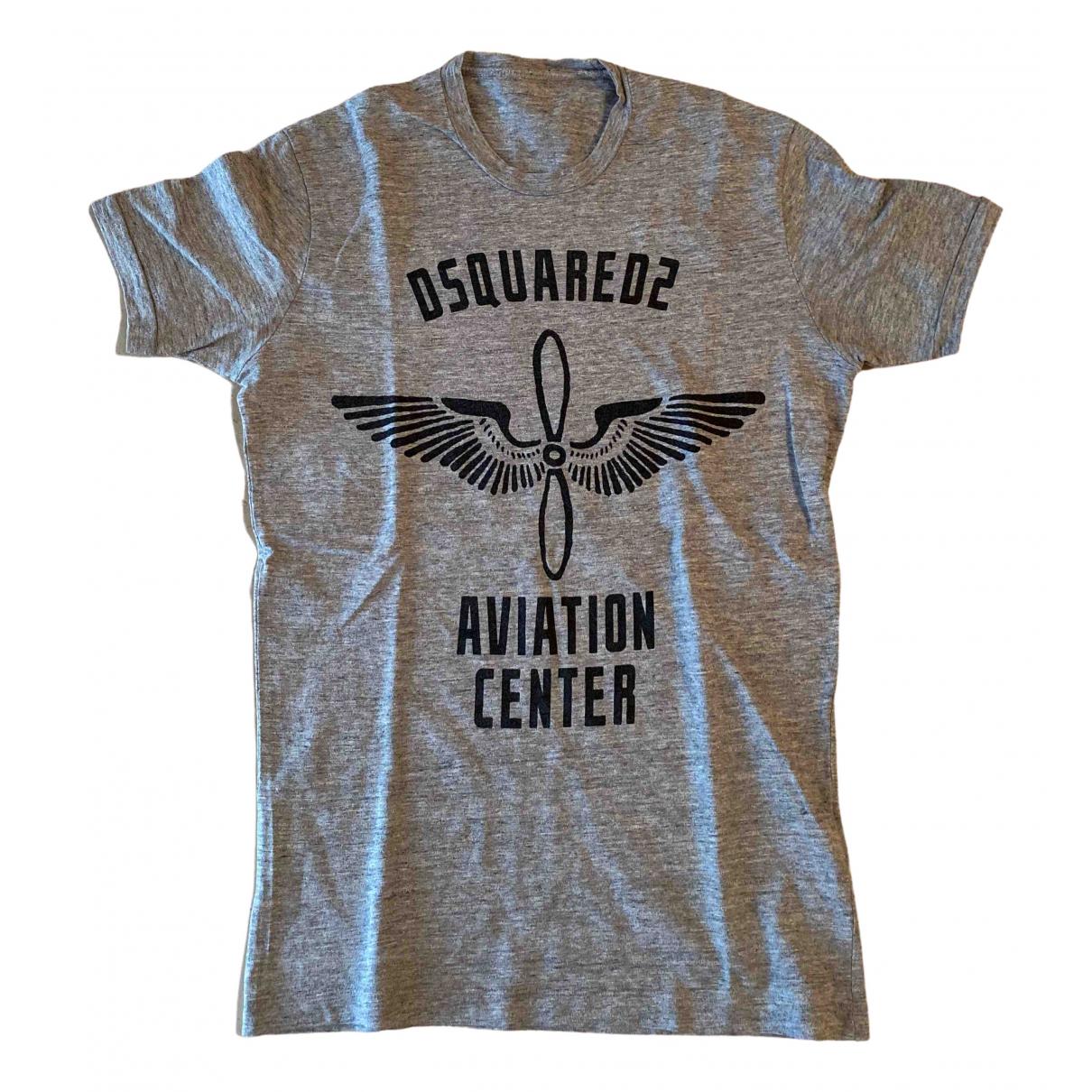 Dsquared2 - Tee shirts   pour homme en coton - gris