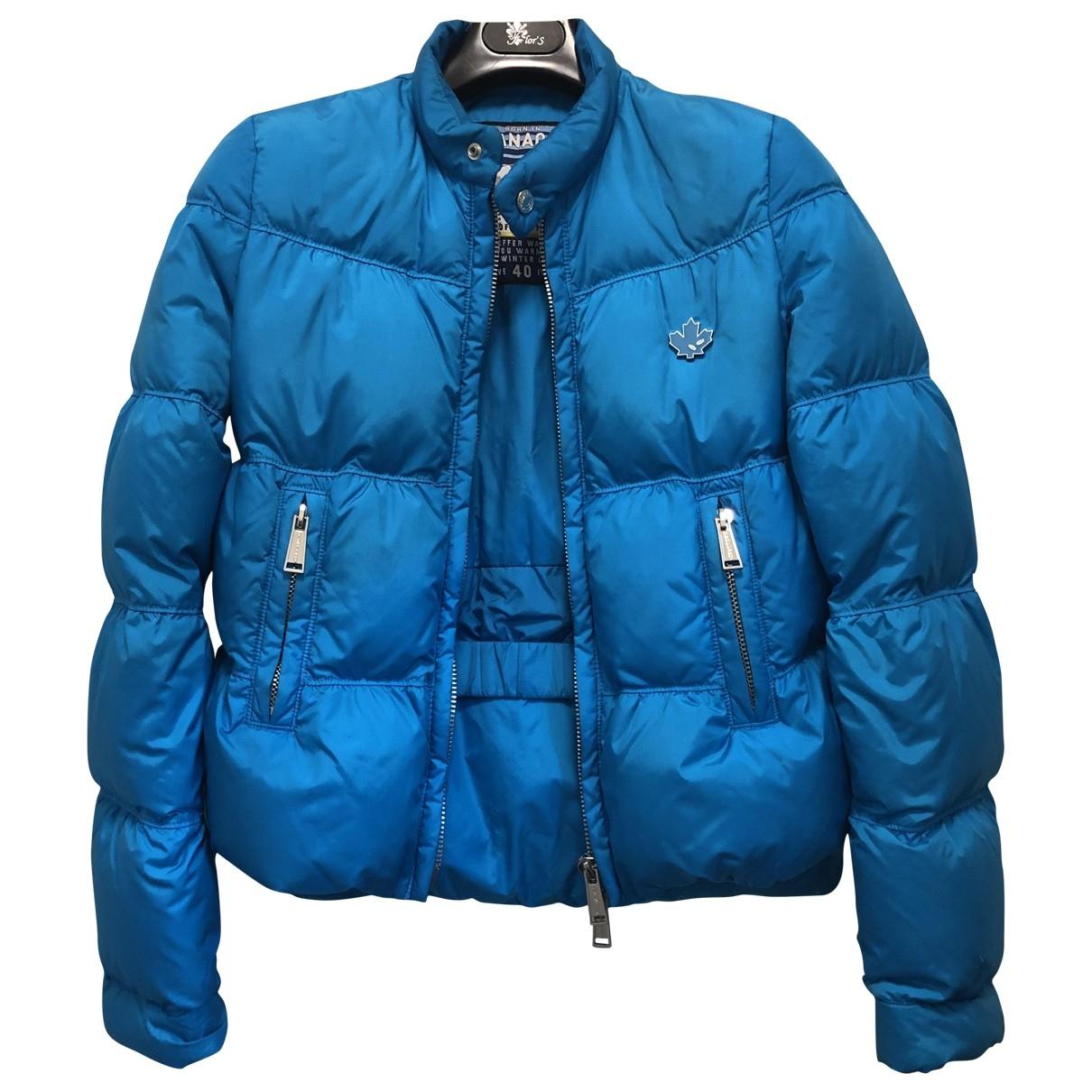 Dsquared2 \N Maentel in  Blau Polyester