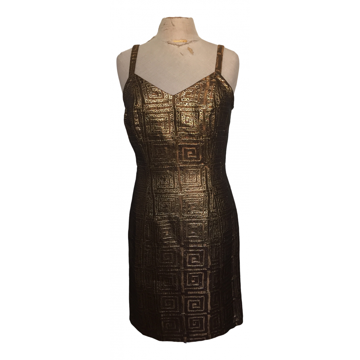 Givenchy \N Kleid in  Gold Polyester