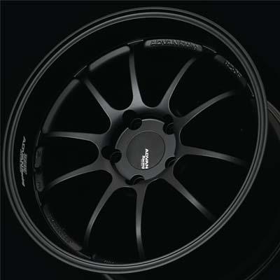 Advan RZ-DF Wheel 18x9 5x114.3 25mm Matte Black