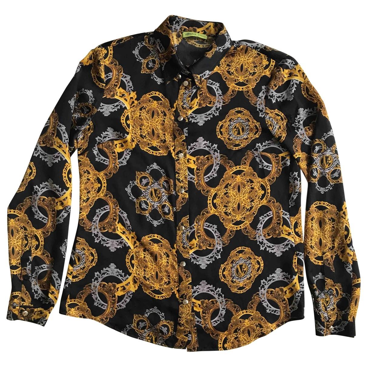 Versace Jean - Top   pour femme en soie - dore