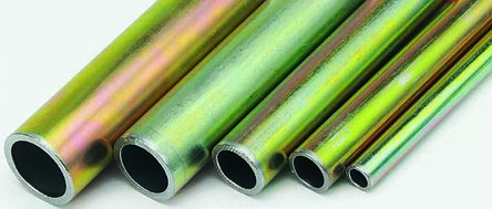 RS PRO 2m Zinc Plated Steel Hydraulic Tubing, 2mm Wall Thickness, 303 bar, -40 to +120°C (3)