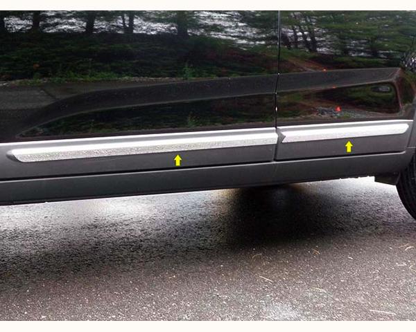 Quality Automotive Accessories 4-Piece Rocker Panel Accent Trim Kit Kia Sorento 2011