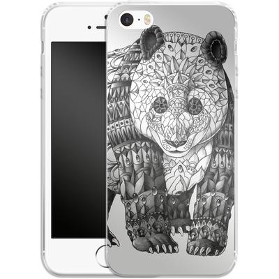 Apple iPhone 5s Silikon Handyhuelle - Panda von BIOWORKZ