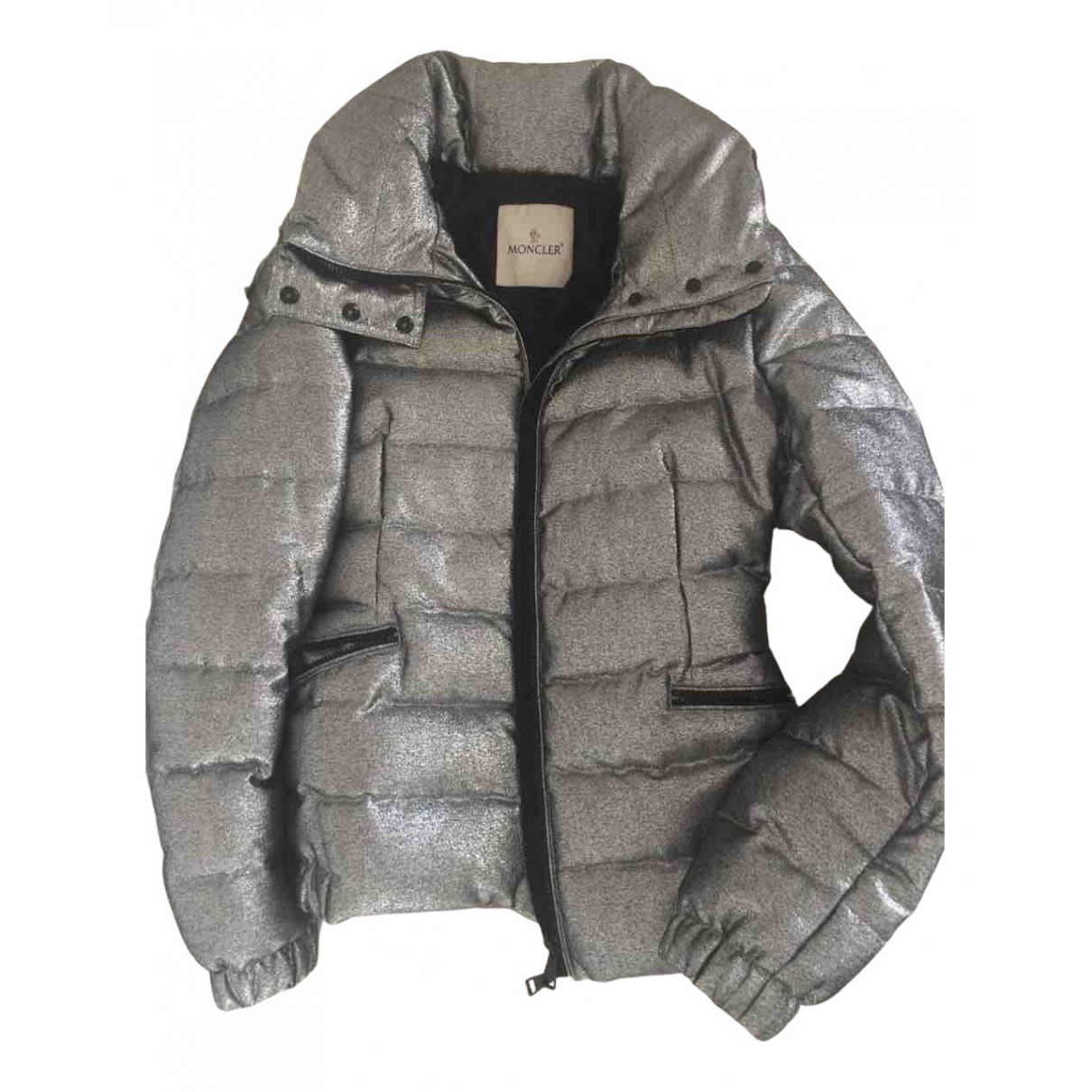 Moncler N Silver Cotton coat for Women M International