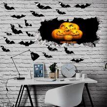 Halloween Pattern Wall Sticker