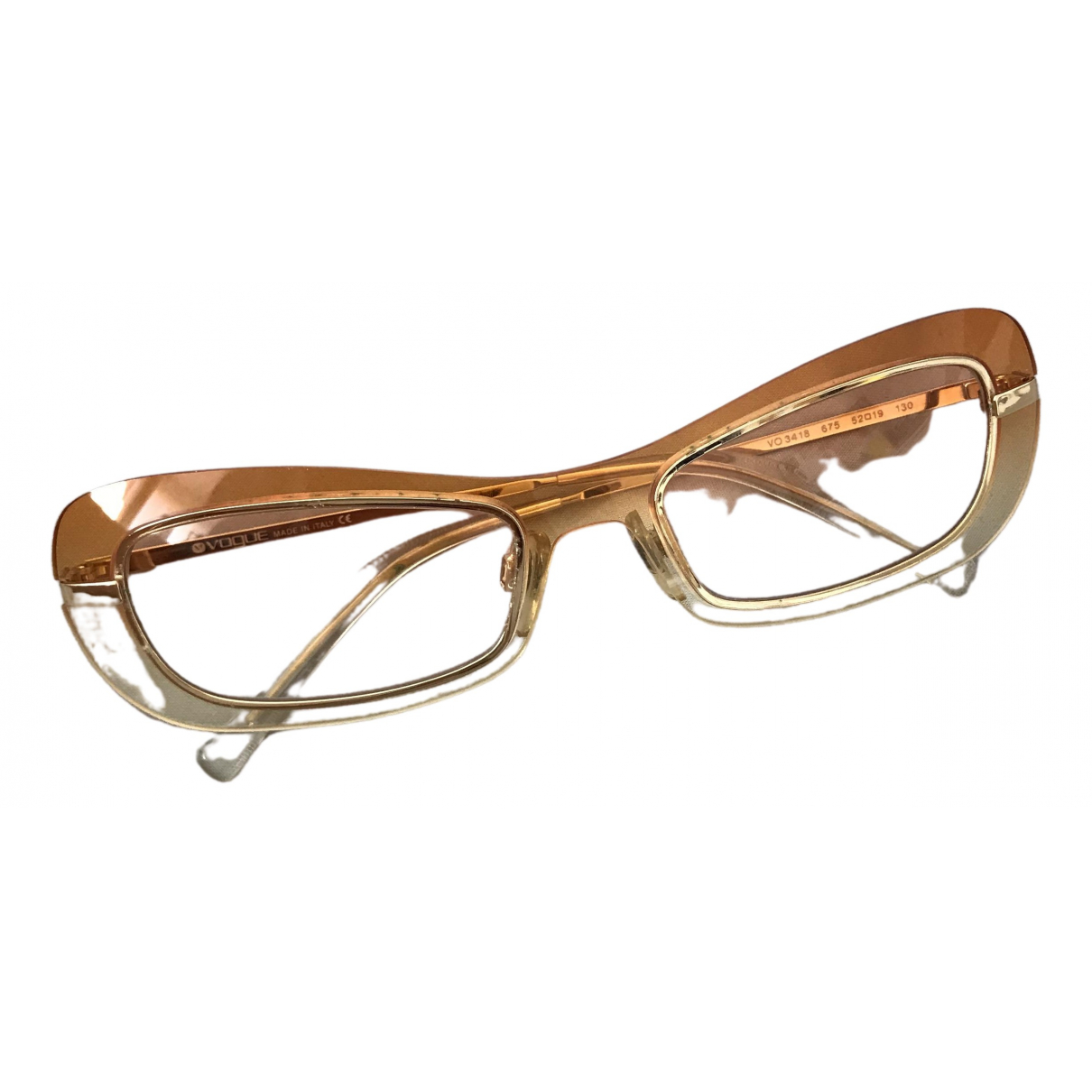 Vogue \N Orange Sunglasses for Women \N