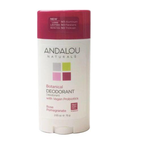 Rose Pomegranate Deodorant 2.65 Oz by Andalou Naturals