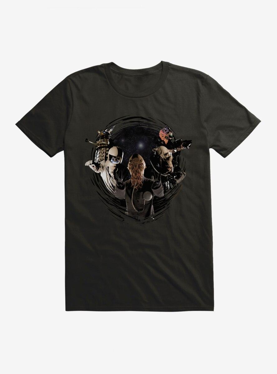 Doctor Who Villains Stick Together T-Shirt