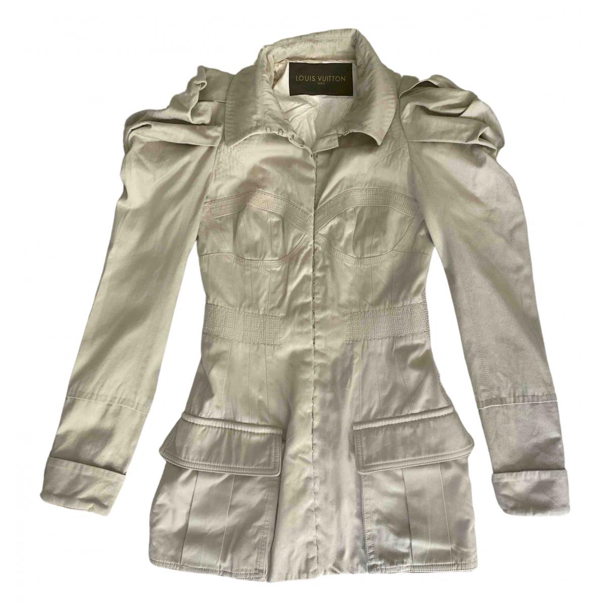 Louis Vuitton \N Kleid in  Beige Denim - Jeans