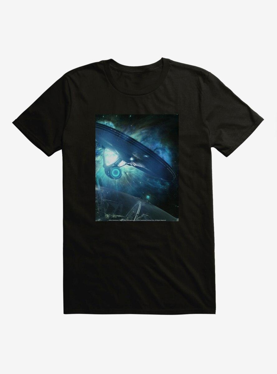 Star Trek Ship Flight Blue T-Shirt