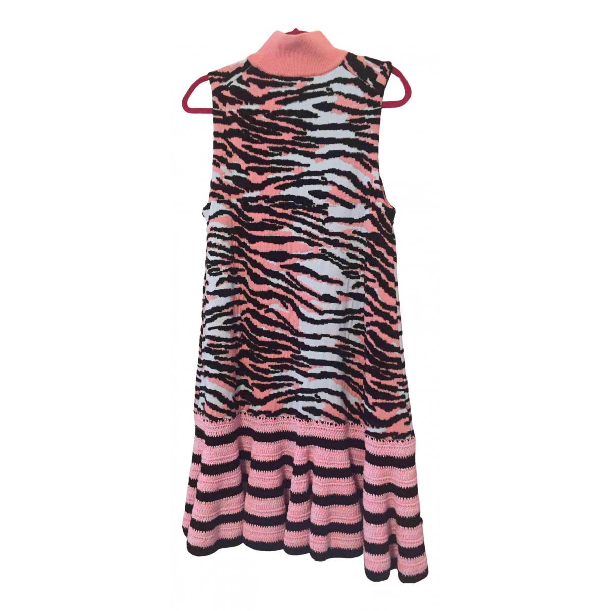 Kenzo X H&m \N Kleid in  Rosa Wolle