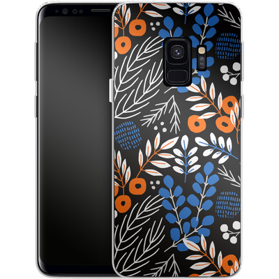 Samsung Galaxy S9 Silikon Handyhuelle - Forest Floor von Jenna Kunnas