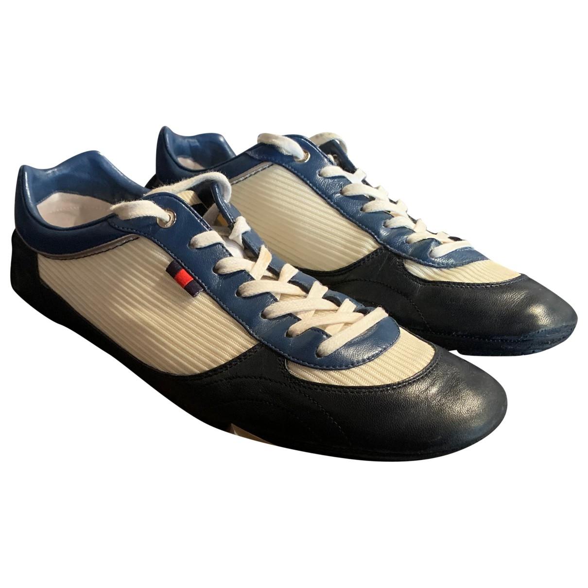 Gucci \N White Cloth Trainers for Men 39.5 EU
