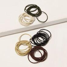 50pcs Simple Hair Tie