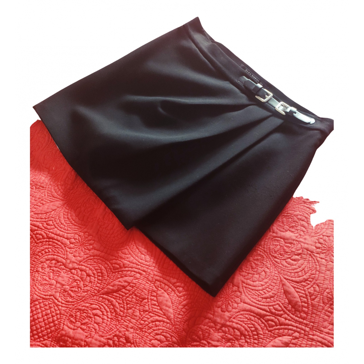 Zara N Black skirt for Women 38 FR