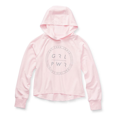 Xersion Little & Big Girls Hoodie, Xx-small (4-5) , Pink