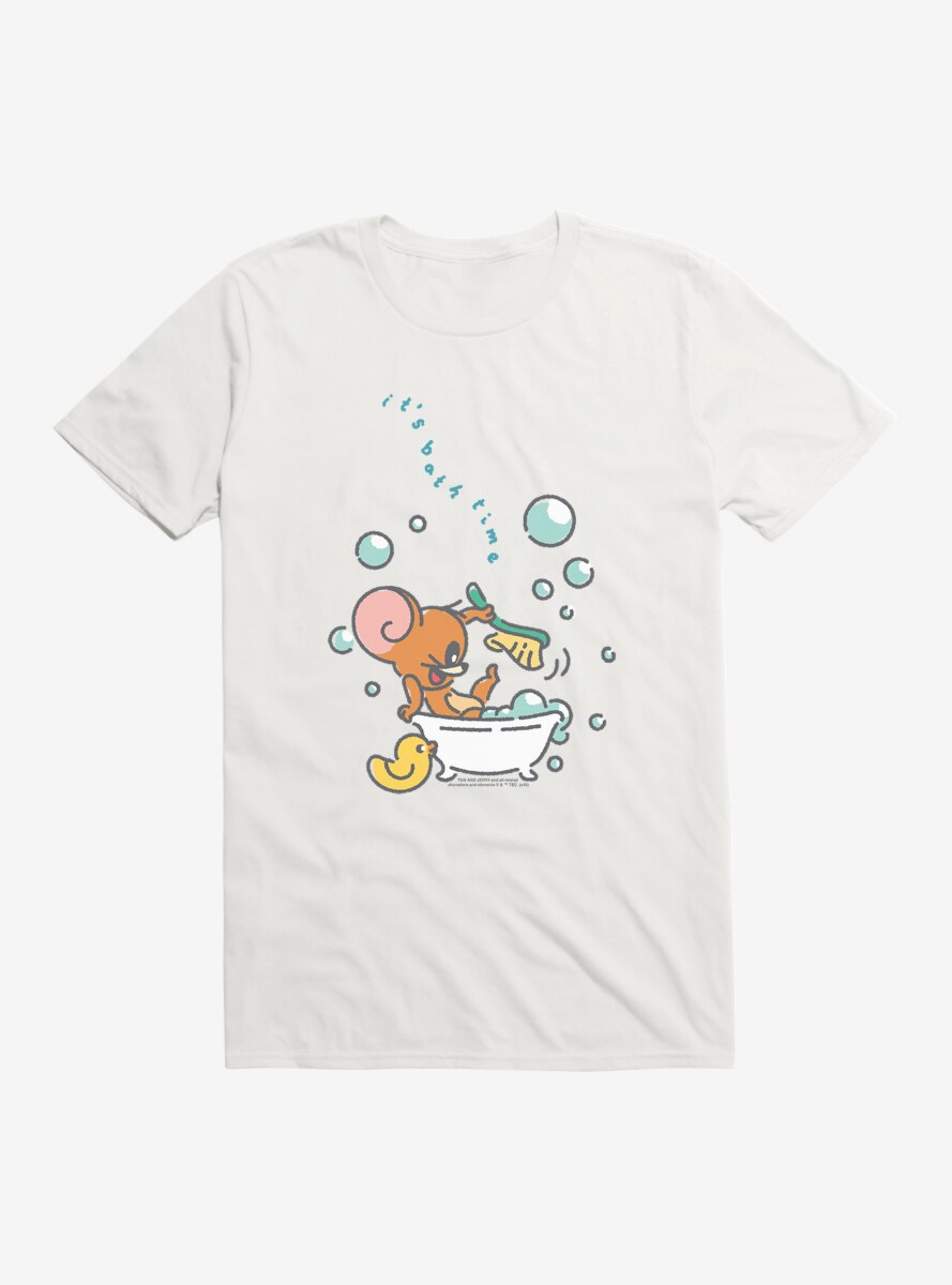 Tom And Jerry It's Bath Time Jerry T-Shirt