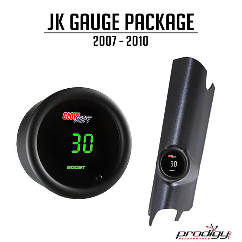 JK Gauge Pod Package Single Pod 07-11 Wrangler JK 11 Pack Prodigy Performance PRO-JK2007-11-PACK-SINGLE
