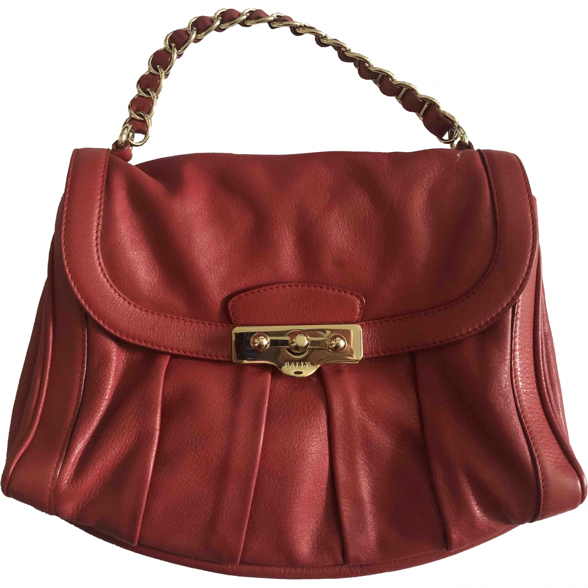 Bally \N Red Leather handbag for Women \N