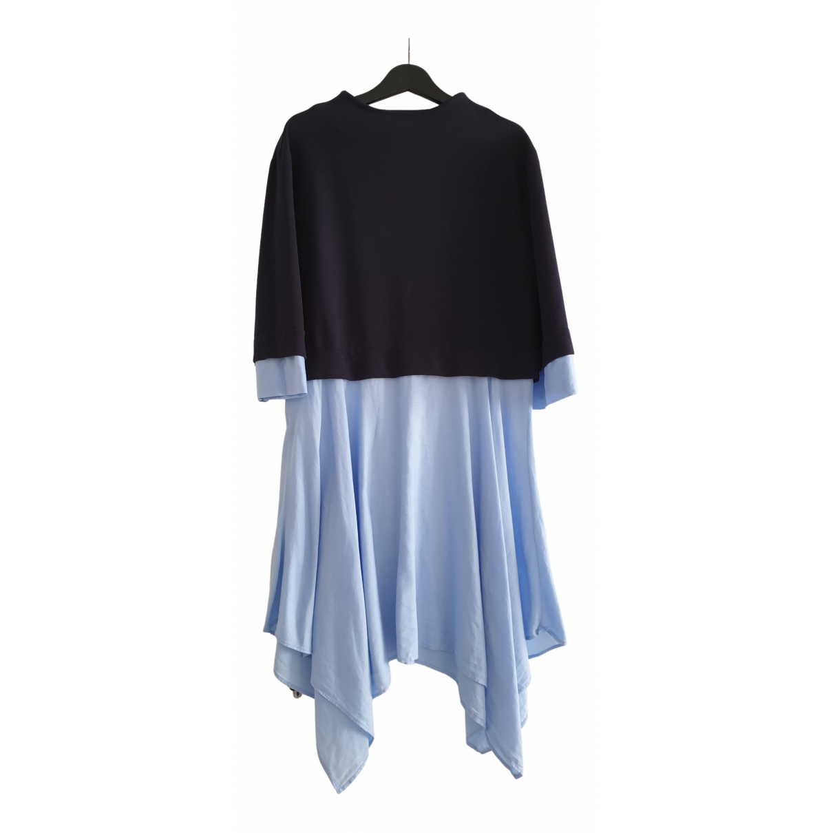 Zara N Blue Cotton dress for Women 34 FR