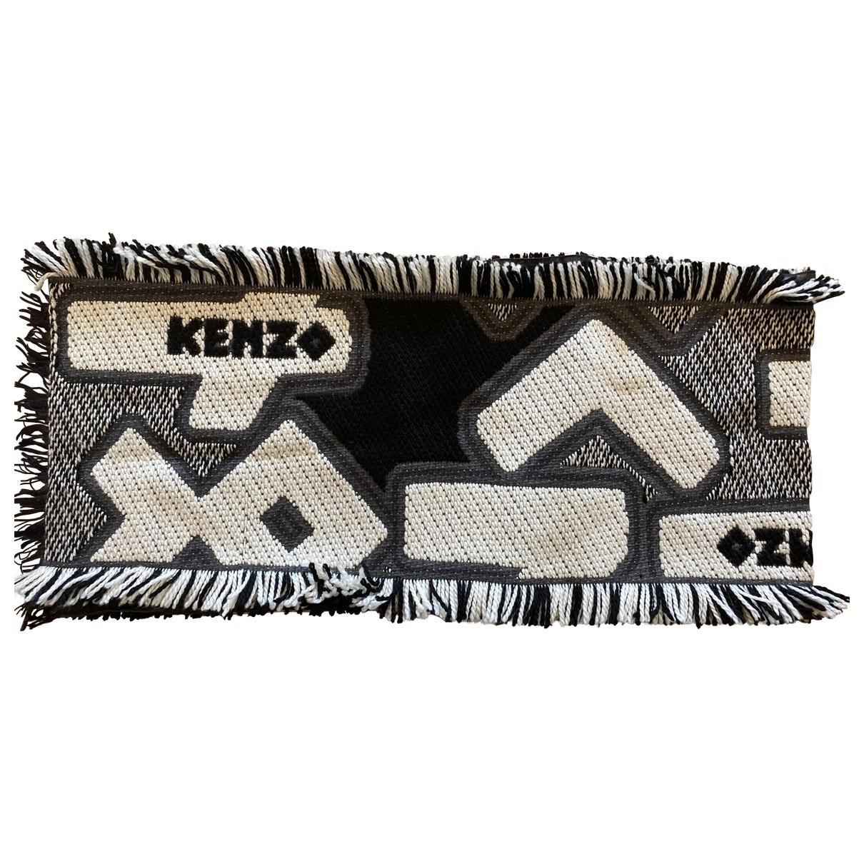 Kenzo \N Beige Wool scarf for Women \N