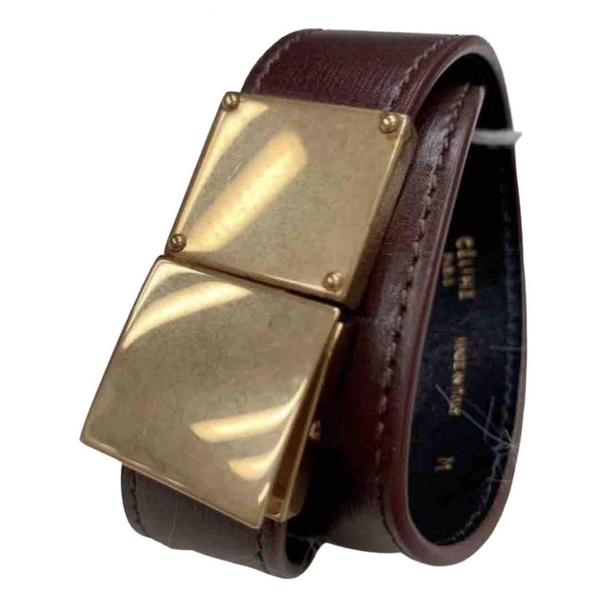 Celine \N Armband in  Gold Leder