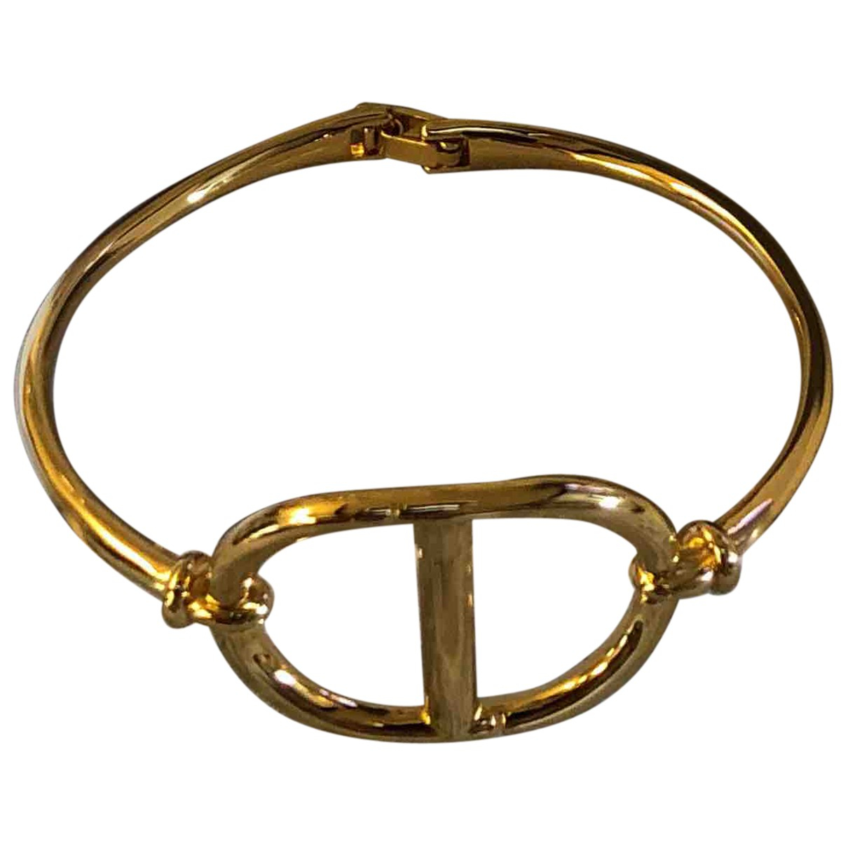 Dior N Gold Metal bracelet for Women N