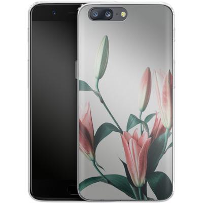 OnePlus 5 Silikon Handyhuelle - Blume von SONY