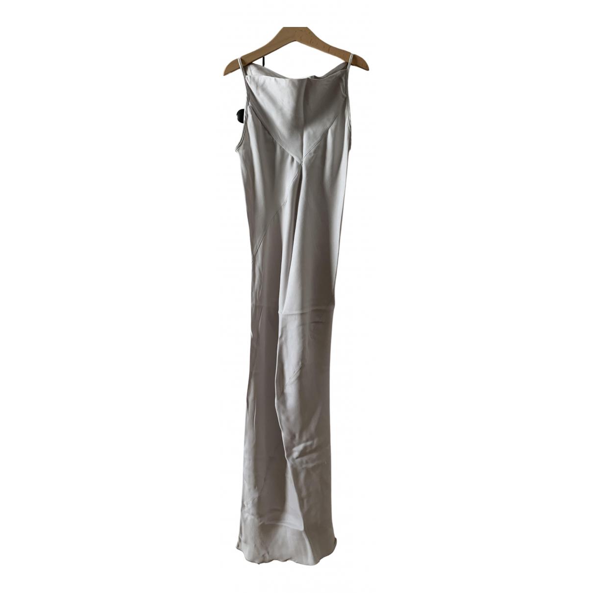 Gareth Pugh \N Ecru Silk dress for Women 40 IT