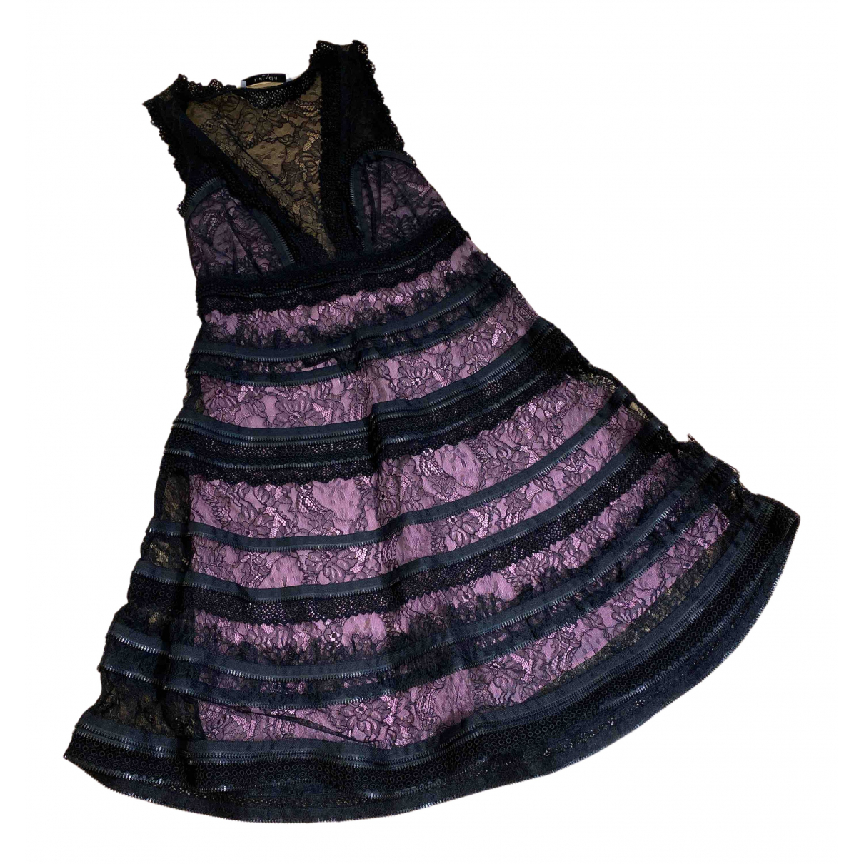 Vestido midi de Encaje Givenchy