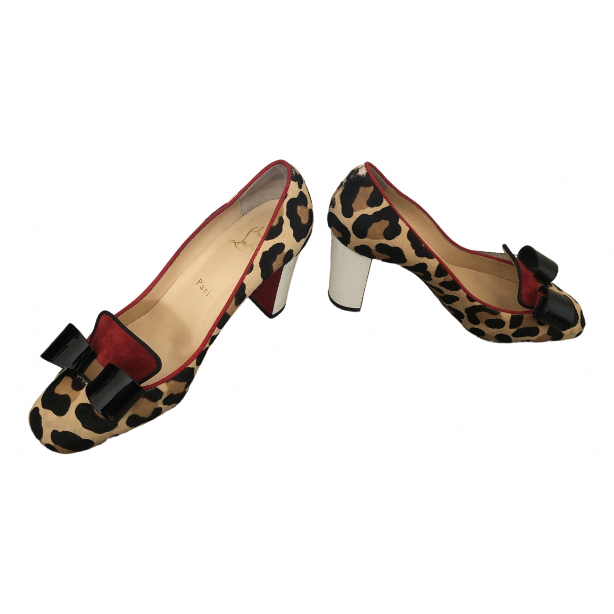 Christian Louboutin \N Pumps in  Bunt Fell